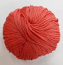 Пряжа для вязания Эджитто TITAN WOOL коралл 109