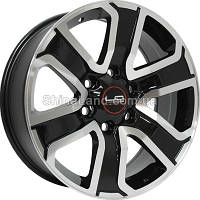 Литые диски Replica LegeArtis Toyota TY188 7,5x18 6x139,7 ET25 dia106,1 (BKF)