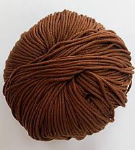 Пряжа для вязания Эджитто TITAN WOOL коричневый 158