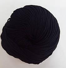 Пряжа для вязания Эджитто TITAN WOOL черный 196