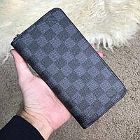 Кошелек Louis Vuitton Zippy Organiser Damier Graphite