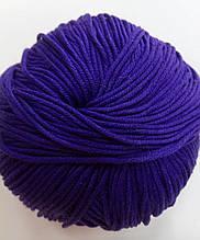 Пряжа для вязания Эджитто TITAN WOOL фиолетов. 201