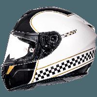MT Rapide Revival B1 Gloss Pearl White, XS, Мотошлем интеграл, фото 1