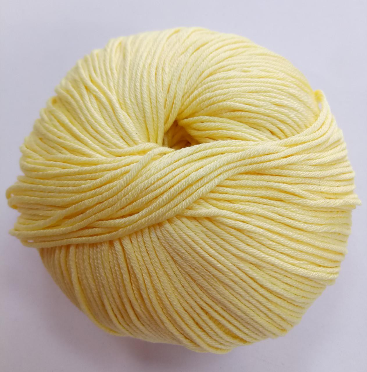 Пряжа для вязания Эджитто TITAN WOOL желтый 288