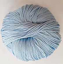 Пряжа для вязания Эджитто TITAN WOOL голубой 603