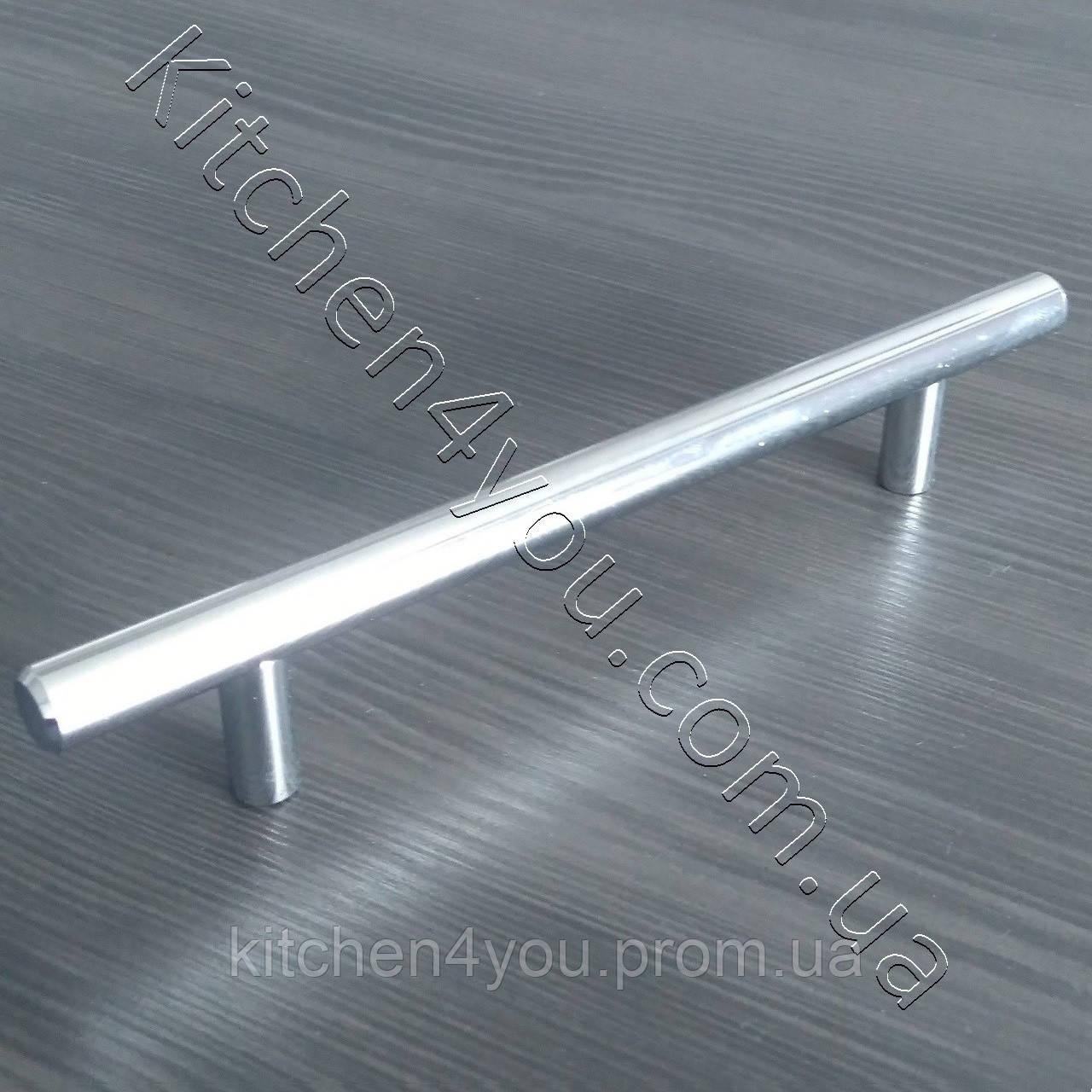 Рейлинговая ручка MAR 12/128 мм. хром