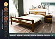 """Кровать деревянная """"Домино"""" 1,4 ольха, фото 3"""
