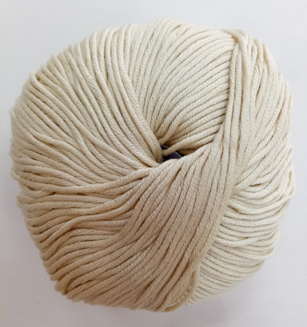 Пряжа для вязания Эджитто TITAN WOOL крем 2140