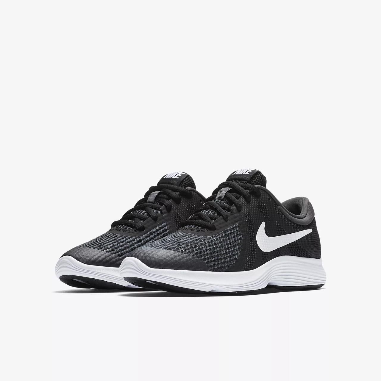58d55917 Детские Кроссовки Nike Revolution 4 Gs 943309-006 (Оригинал) - Football  Mall -
