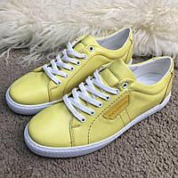 Кроссовки Dolce & Gabbana London Yellow, фото 1