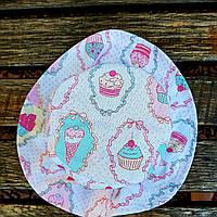 Шляпа детская пирожено розовое