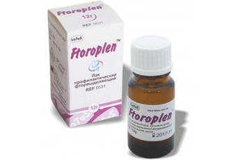Лак профилактический фторвыделяющий  Ftoroplen (Фтороплен)