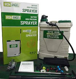 Опрыскиватель аккумуляторный Iron Angel SPR 16B (электрическая помпа+ручной насос)