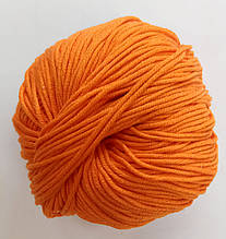 Пряжа для вязания Эджитто TITAN WOOL оранж 165