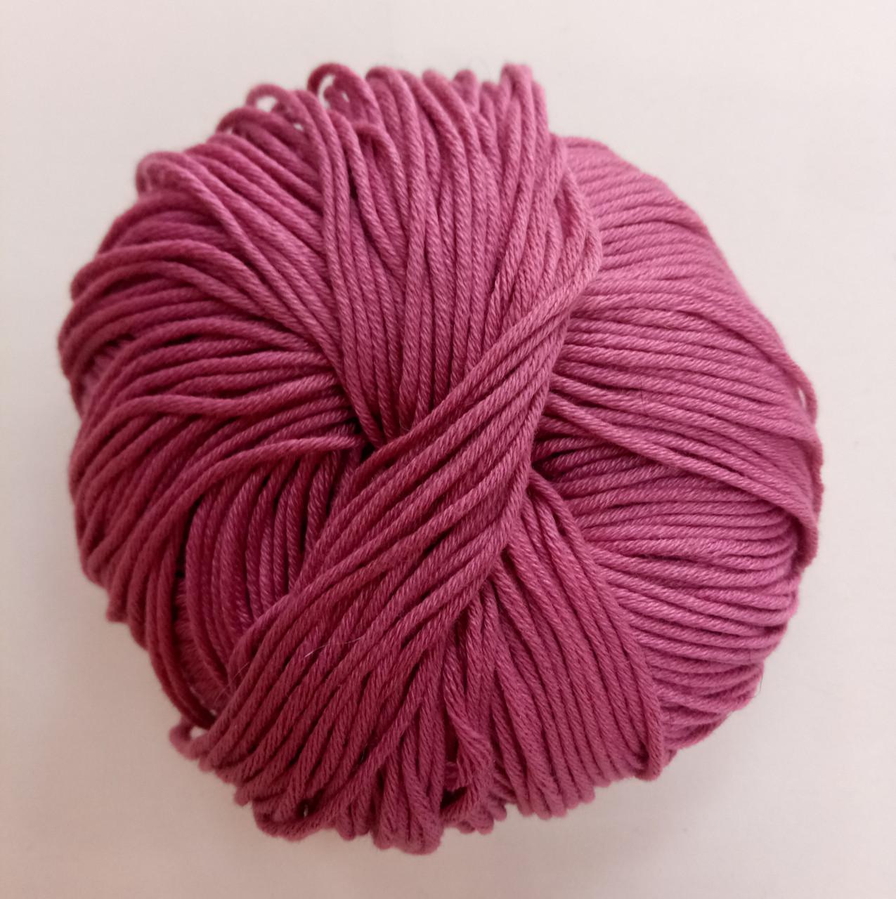 Пряжа для вязания Эджитто TITAN WOOL фиолет 41