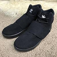 Кроссовки Adidas Tubular Invader Vapour Total Black, фото 1