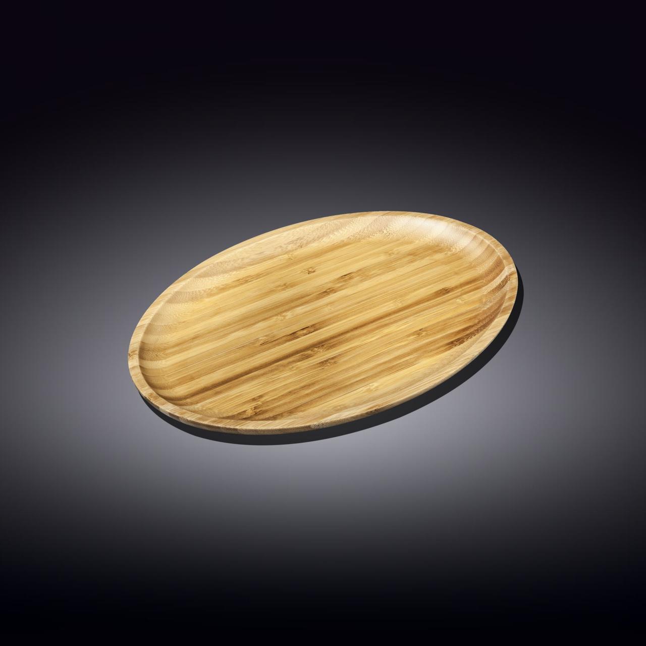 Блюдо бамбуковое Wilmax Bamboo 30,5х20,5 см WL-771067