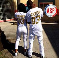 Парные футболки king queen печать на футболках номеров фамилий надписей
