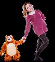 """Плюшевый Медведь из м/ф """"Маша и Медведь"""" 60 см."""