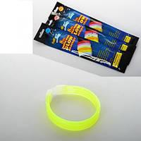 Неоновые аксессуары MK 0603  браслет (палочка 19,5см), микс цветов в кульке, 6-28-1см(MK 0603)