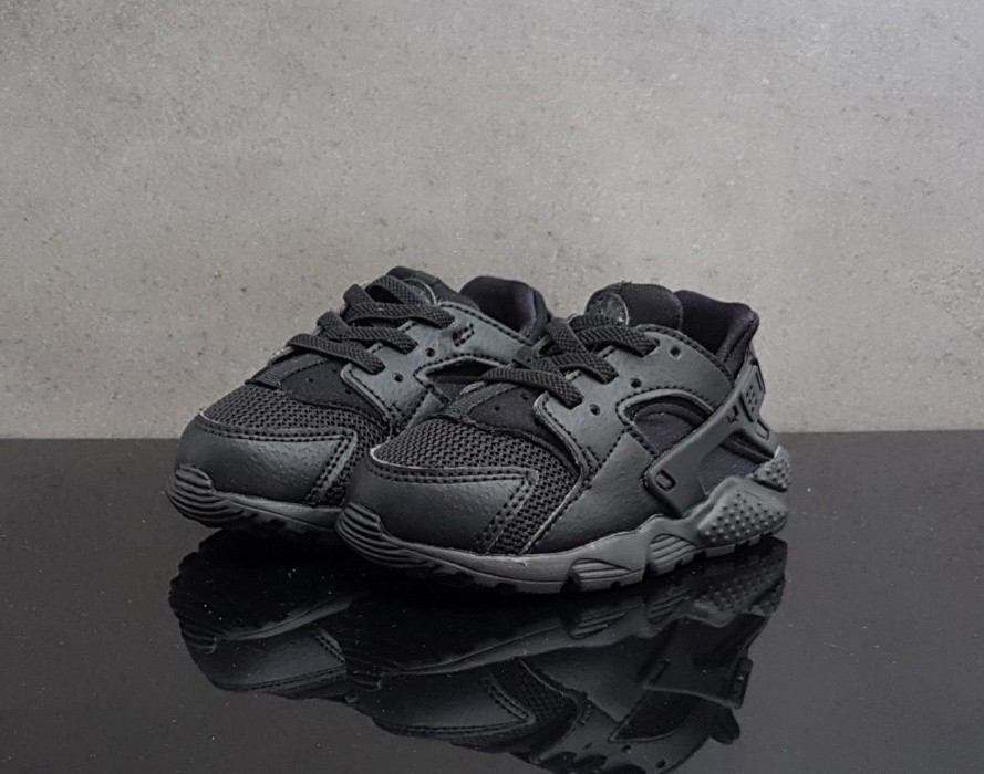 4da8a1ed Детские Кроссовки Nike Huarache Run Sneaker 704950-016 (Оригинал) -  Football Mall -