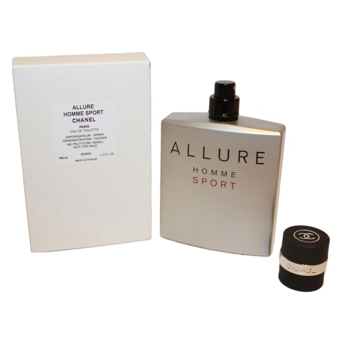 Chanel Allure Homme Sport туалетная вода 100 ml. (Тестер Шанель Аллюр Хом Спорт)