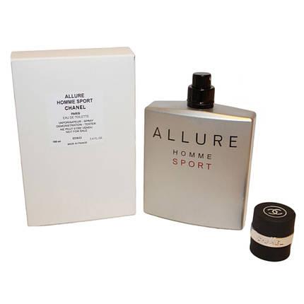Chanel Allure Homme Sport туалетная вода 100 ml. (Тестер Шанель Аллюр Хом Спорт), фото 2