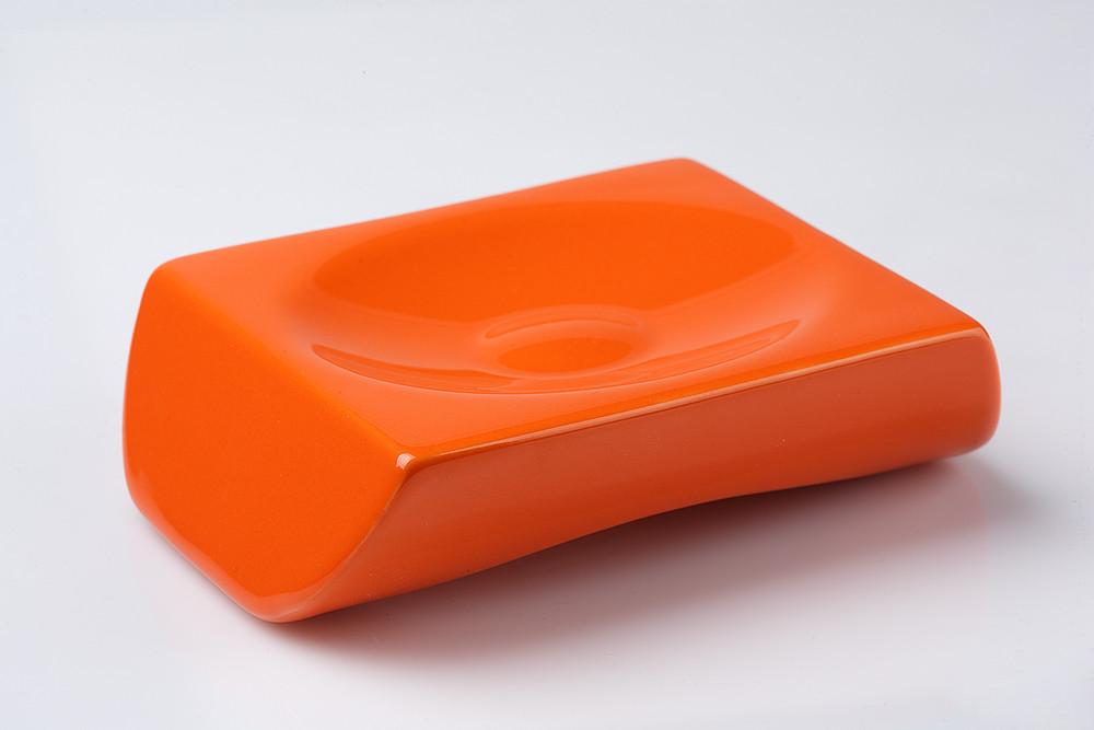 Мыльница настольная Акик оранжевый