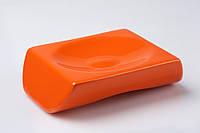 Мыльница настольная Акик оранжевый, фото 1