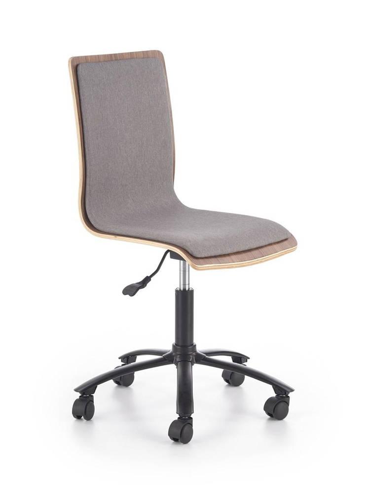 Компьютерное кресло JACK орех/серый Halmar
