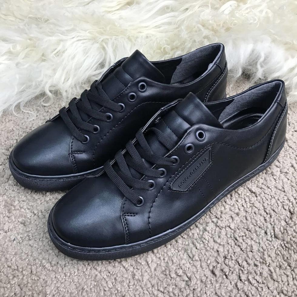 Кроссовки Dolce & Gabbana London Black