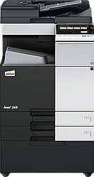 МФУ DEVELOP ineo+ 368 ( А3/ SRA3/ banner, полноцветный сетевой принтер, копир, сканер, дуплекс)