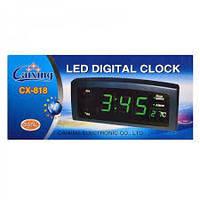 Электронные настольные часы Caixing CX 818!Спешите