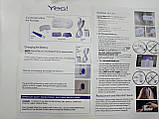 Ручна електробритва Yes Finishing Touch (Йес Фінішінг Тач) для делікатної епіляції тіла, фото 8