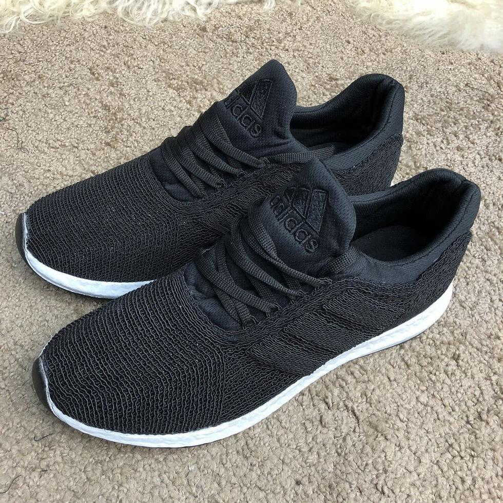 24ca0a6a5 Кроссовки брендовые Adidas UltraBoost Flyknit Black/White -  интернет-магазин «ОПТовый» в