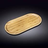 Блюдо бамбуковое плоское Wilmax Bamboo 45,5х23 см WL-771062