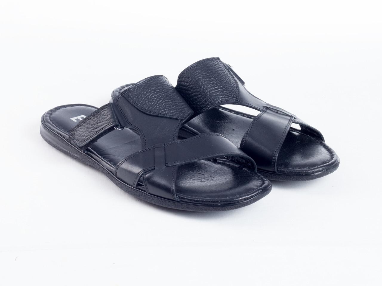 Шлепанцы Etor 503-3514-7028 черные, фото 1