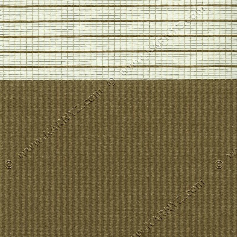 Ролета День-Ночь Софт Z-664 коричневый карамель