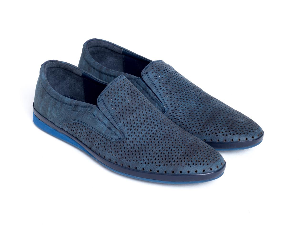 Мокасины Etor 14961-44-1-14865 47 синие
