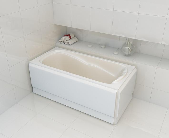 Ванна акриловая Artel Plast Искра 130х75х62