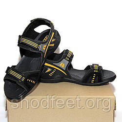 Мужские сандалии OCCO Black Yelow