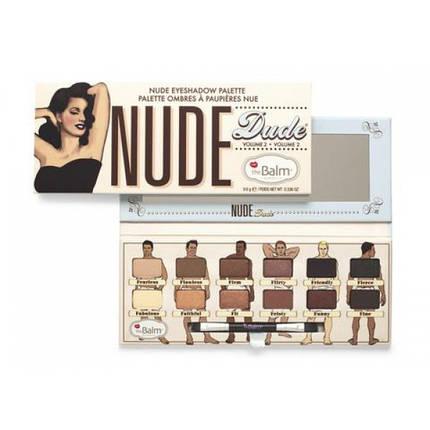Палитра теней The BALM Nude Dude, фото 2