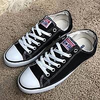Легендарные кеды Converse Chuck Taylor All Star Low Top Black/White