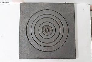 Плита чугунная под казан 550х550, фото 2