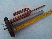 Тэн для бойлера Ariston (Аристон) 1500 Вт, медный в комплекте с фланцем,прокладкой и Итальянским анодом