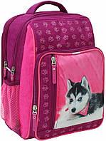 Школьный рюкзак Bagland для девочки малина Хаски