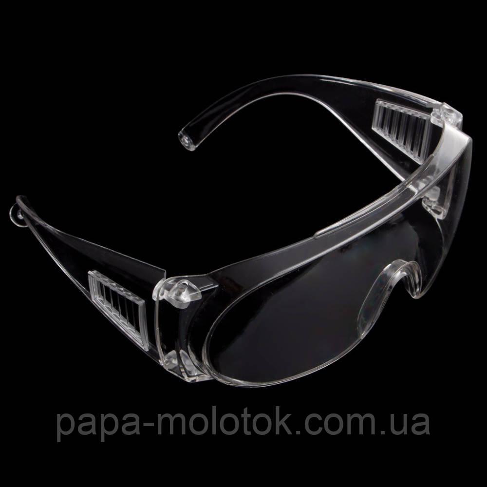 Прозрачные вентилируемые защитные очки для защиты глаз