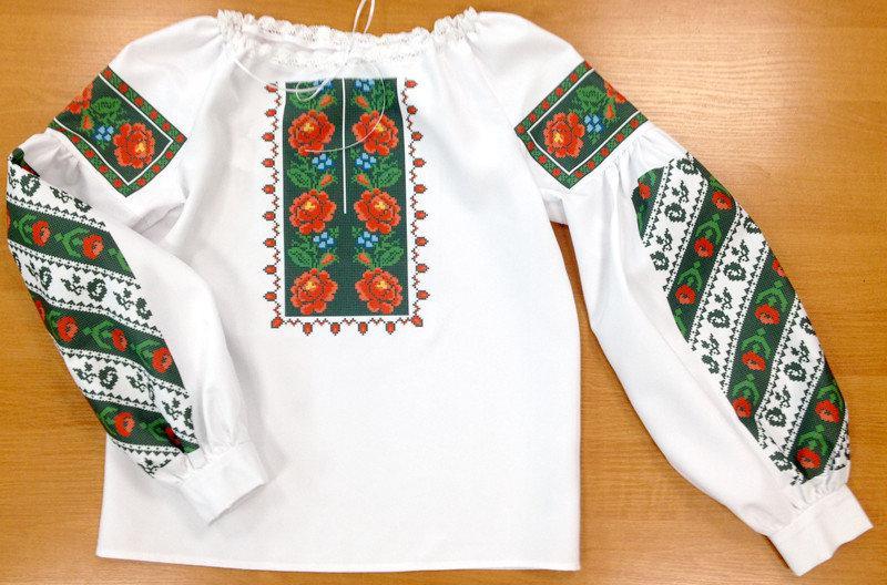 ПЖВ-3. Пошита жіноча вишиванка