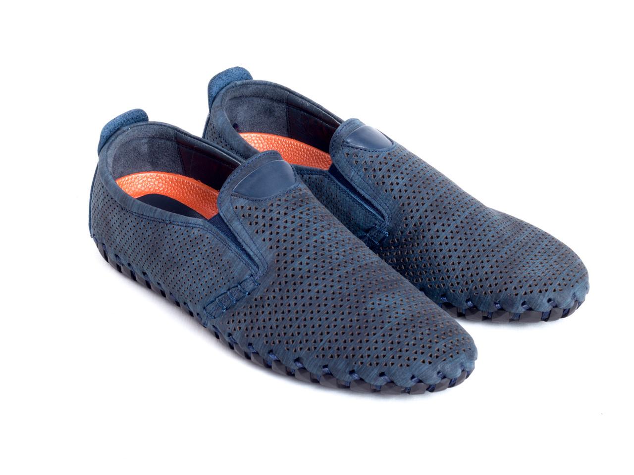 Мокасини Etor 15001-003-14865 синій