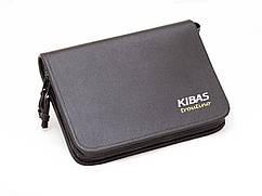 Кошелек для блесен KIBAS из экокожи L Черный (KS5021)